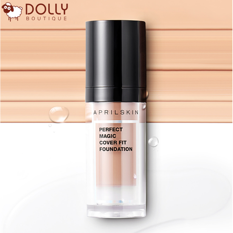 KEM NỀN APRIL SKIN PERFECT MAGIC COVER FIT FOUNDATION
