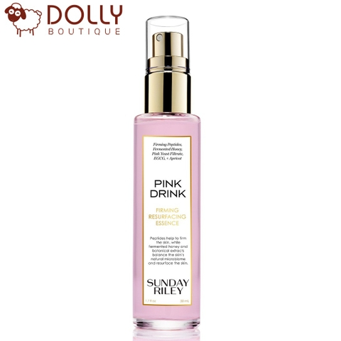 TINH CHẤT DƯỠNG SUNDAY RILEY DRINK FIRMING RESURFACING ESSENCE 25ML