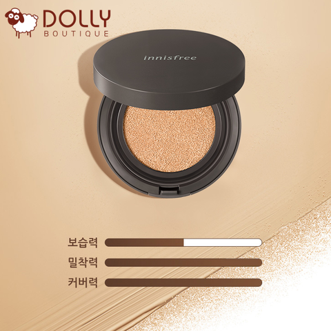 PHẤN NƯỚC INNISFREE SKINNY COVERFIT CUSHION 2019