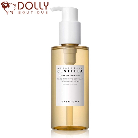 Dầu Tẩy Trang Rau Má Skin1004 Madagascar Centella Light Cleansing Oil 200ml