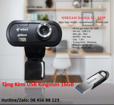 Webcam Dahua Z2 - 720P