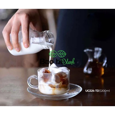 Ly thuỷ tinh cafe phin 200ml