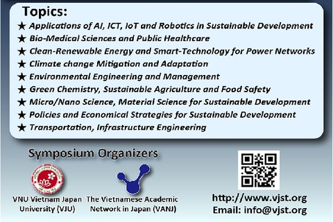 JFC THAM DỰ HỘI NGHỊ VIETNAM-JAPAN SCIENCE AND TECHNOLOGY SYMPOSIUM