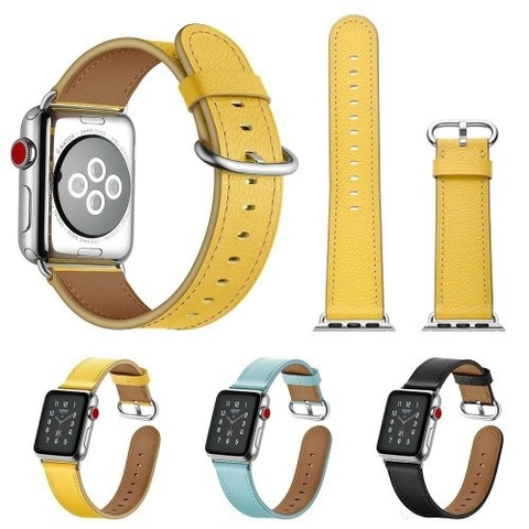 Dây đeo Apple Watch Jinya Fresh Leather 38 & 40mm