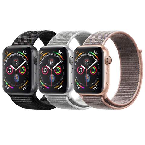 Apple Watch Series 4 GPS Mặt Nhôm 44mm Dây Nylon