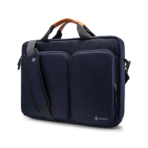 TÚI XÁCH TOMTOC (USA) TRAVEL BRIEFCASE FOR ULTRABOOK 15″ DARK BLUE