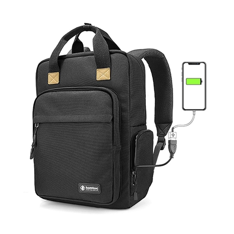 BALO TOMTOC (USA) DAILI BACKPACK FOR ULTRABOOK 15'/22L BLACK