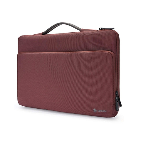 "TÚI XÁCH CHỐNG SỐC TOMTOC (USA) BRIEFCASE MACBOOK PRO 13"" NEW RED A14-B01R"