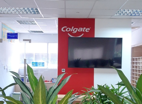 COLGATE - PALMOLIVE FACTORY OFFICE.