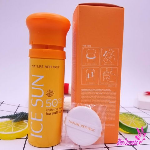 Kem chống nắng Ice Sun Nature Republic SPF 50+ PA++++