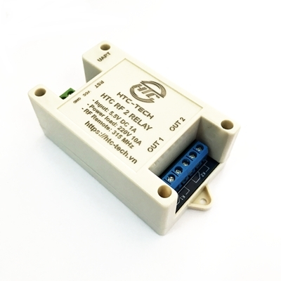 HTC-TECH Module HTC RF 2 Relay - Box KW-72
