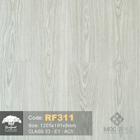 Rainforest 8mm - Sàn gỗ Rainforest RF311