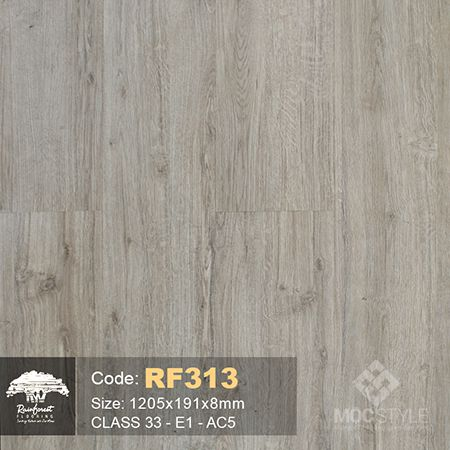 Rainforest 8mm - Sàn gỗ Rainforest RF313