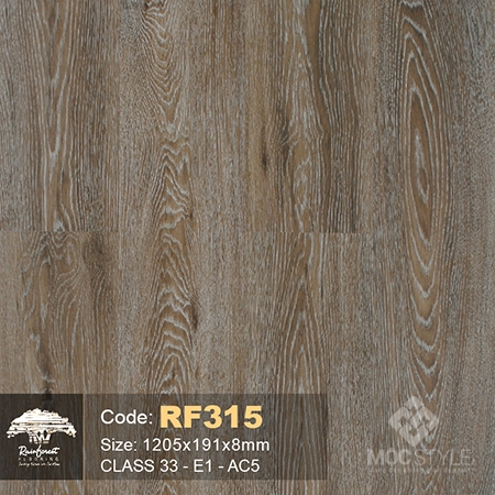 Rainforest 8mm - Sàn gỗ Rainforest RF315