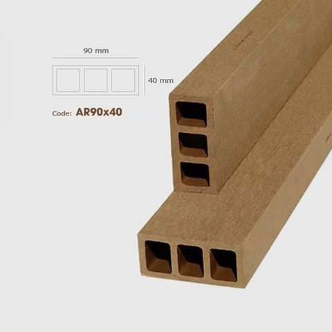 Thanh lam gỗ AWood AR90x40 Wood