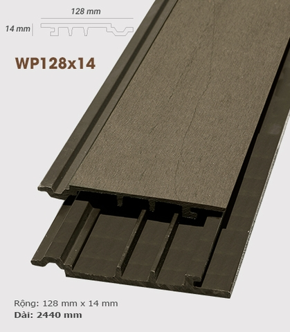 - Ốp tường AWood WP128x14 Coffee
