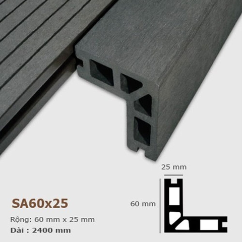- AWood SA60x25 Dark Grey