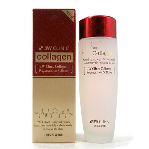 NƯỚC HOA HỒNG 3W CLINIC COLLAGEN CLEAR SOFTENER