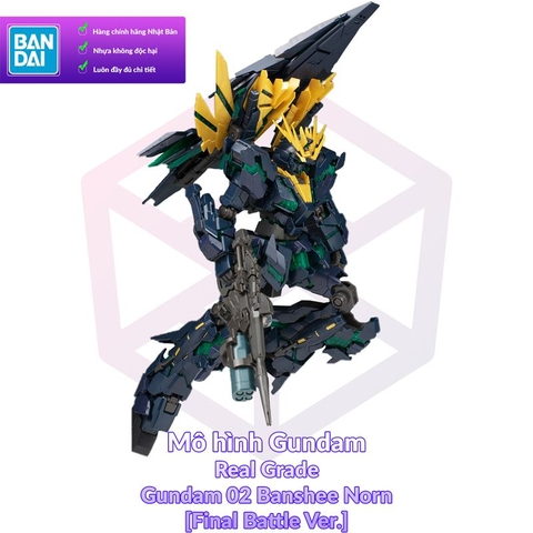 P-Bandai RG Banshee Norn [Final Battle Ver.]