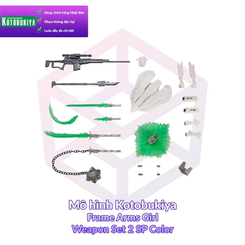 Kotobukiya Frame Arms Girl Weapon Set 2 SP Color