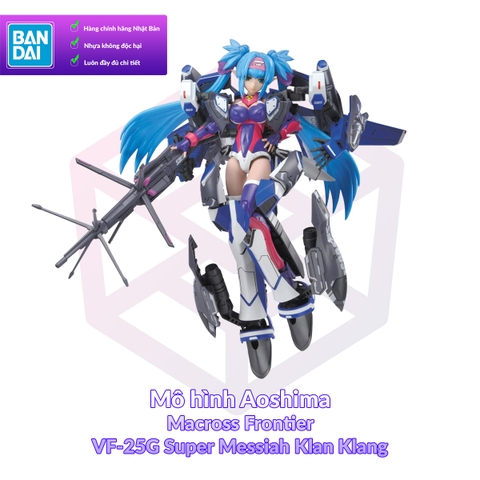 V.F.G Macross Frontier VF-25G Super Messiah Klan Klang