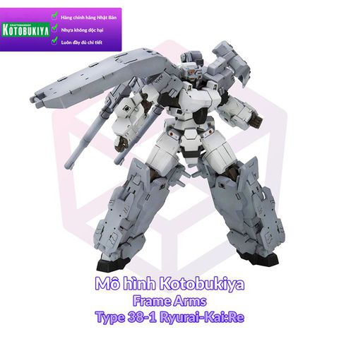 Kotobukiya Frame Arms 005 Type 38-1 Ryurai-Kai:Re