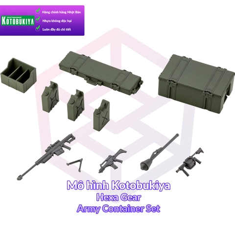 Kotobukiya Hexa Gear Army Container Set