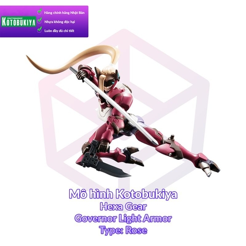 Kotobukiya1/24 Hexa Gear Governor Light Armor Type: Rose