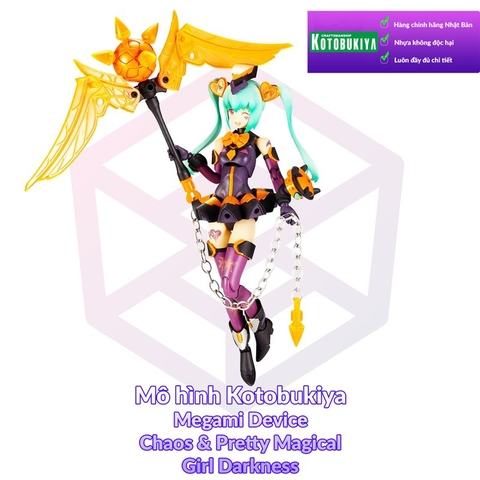 Kotobukiya Megami Device 7.1 Chaos & Pretty Magical Girl Darkness