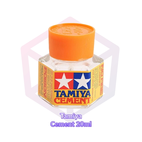 Tamiya Cement 20ml nắp cam [87012]