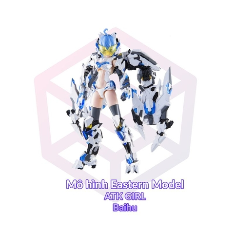 Eastern Model 1/12 ATKGIRL Baihu White Tiger