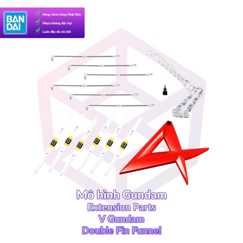 P-Bandai RG Double Fin Funnel for Nu Gundam