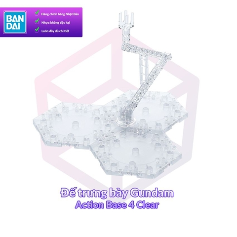 Bandai 1/100 Action Base 4 Clear