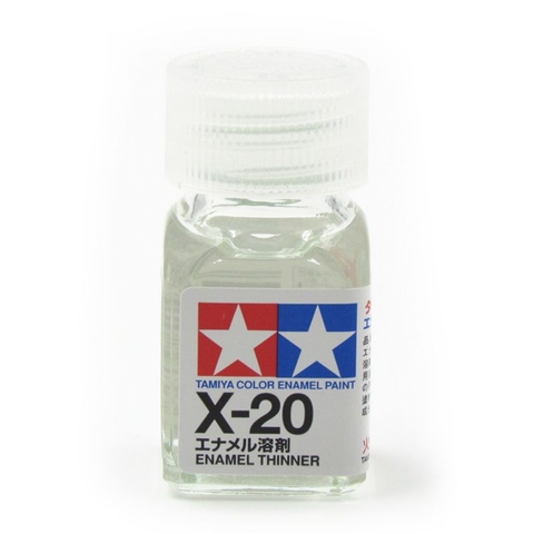 Tamiya Thinner Enamel Paint X20 lọ 10ml (bé)