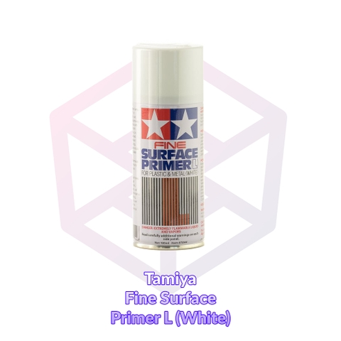 Tamiya Fine Surface Primer L (White) [87044]