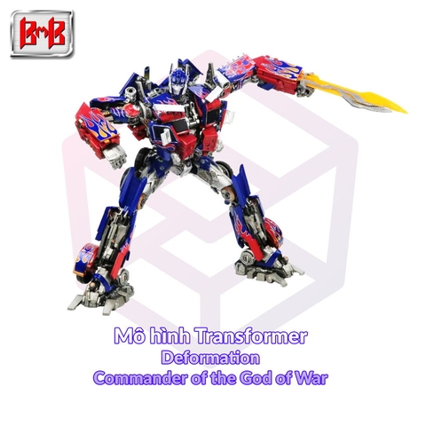 Mô hình Transformer Black Mamba Deformation LS-03F Commander of the God of War [TFM]