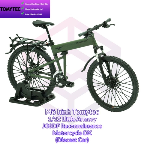 Mô hình Tomytec 1/12 Little Armory Folding MTB for Airborne Units Montague Paratrooper (Diecast Car) [TAM] [PK]