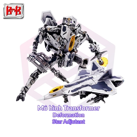 Mô hình Transformer Black Mamba Deformation LS-04 Star Adjutant [TFM]