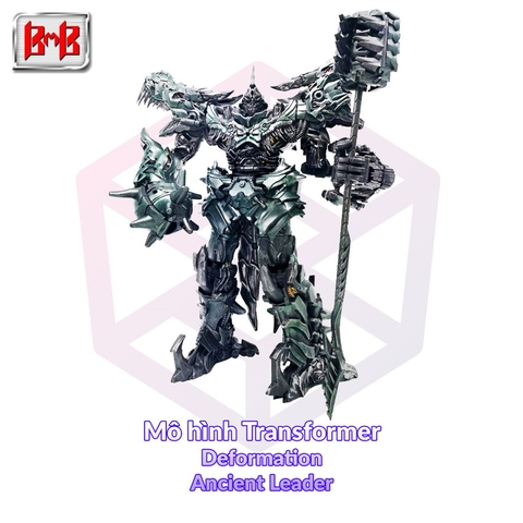 Mô hình Transformer Black Mamba Deformation LS-05 Ancient Leader [TFM]