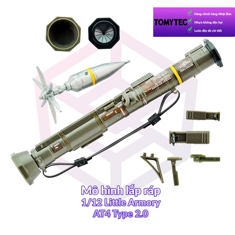 Tomytec 1/12 Little Armory (LA048) AT4 Type 2.0