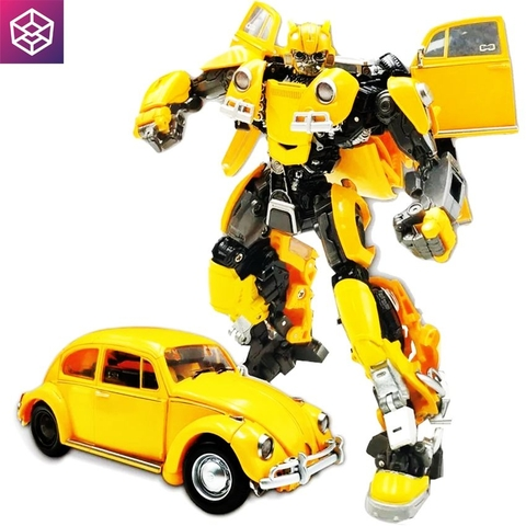 Mô hình Transformer Black Mamba (BMB) Deformation LS-07 Yellow Bug [TFM]
