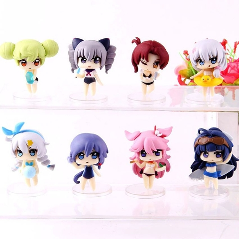 Petit  Houkai Impact 3 Collectible Figures Reunion in summer Ver
