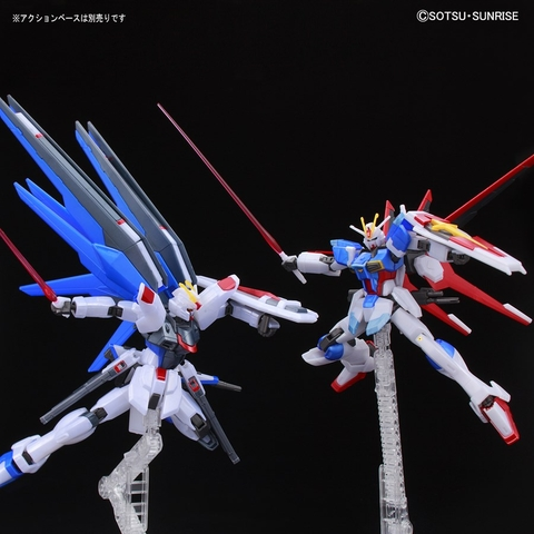Mô Hình Gundam Bandai HGCE Freedom Gundam Vs Force Impulse Gundam (Battle Of Destiny Set) (Metallic) [GDB] [BHG]