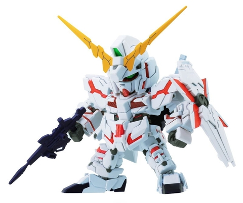 Bandai SD EX-Standard 05 Unicorn Gundam (Destroy Mode)