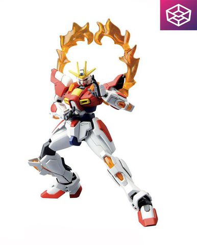 Mô Hình Bandai HG 018 Build Fighters Build Burning Gundam [GDB] [BHG]