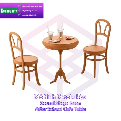 Mô Hình Kotobukiya Sousai Shojo Teien After School Cafe Table [KTB] [SST]
