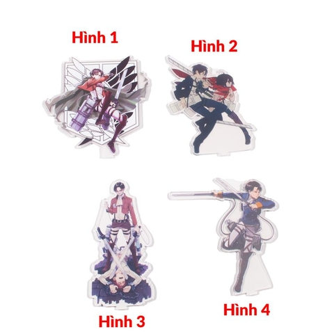 Standee 15cm - Attack on Titan