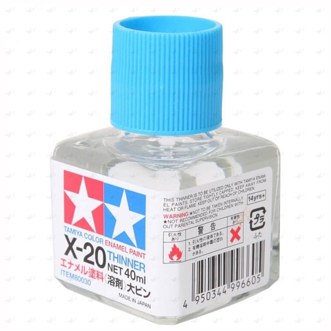 Tamiya Thinner Enamel Paint X20 lọ 40ml 80030