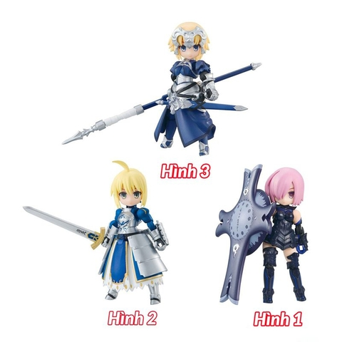 Desktop Army Fate/GO Vol.1 3pcs