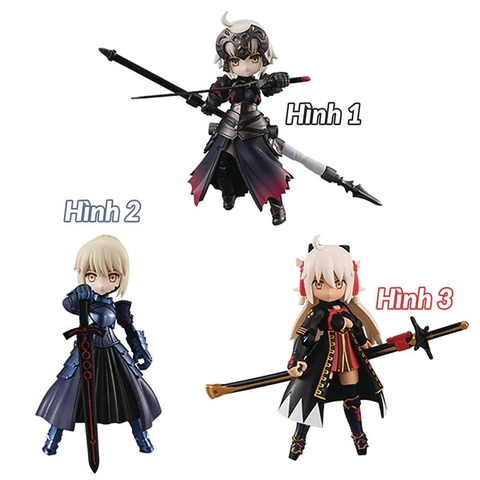 Desktop Army Fate/GO Vol.4 3pcs